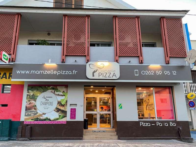 mam'zelle pizza ouvre une nouvelle pizzéria à la saline-les-bains 974