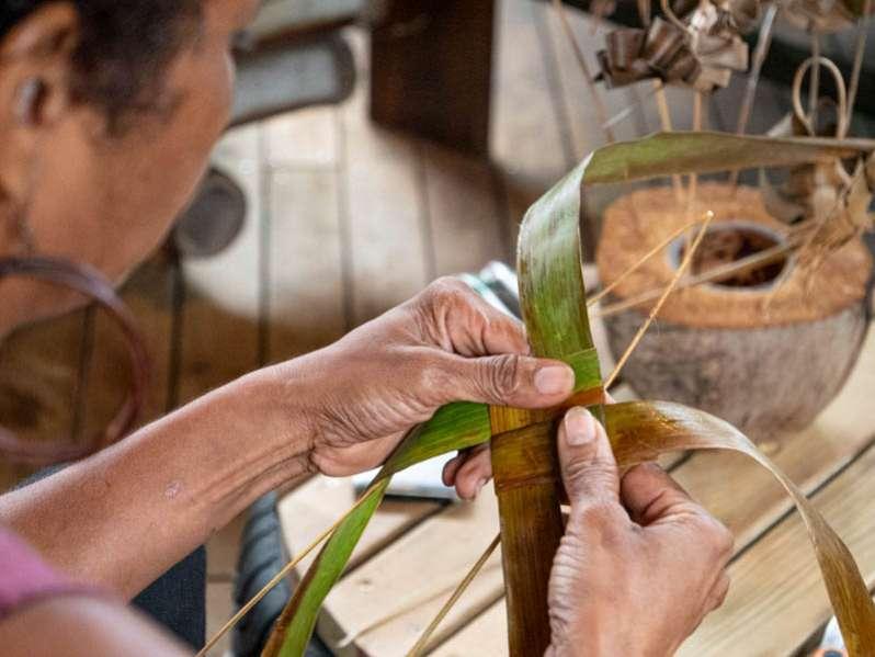 tressage, cuisine, cosmétique ... tout est bon dans le coco, le symbole de l'ouest de la réunion. 974
