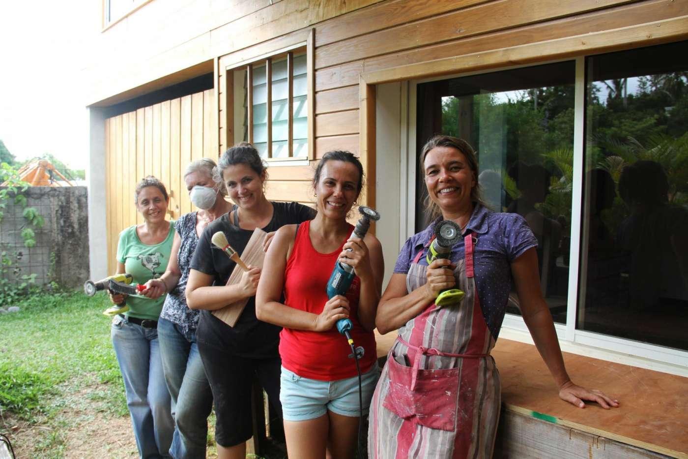 Les ateliers d'anis : l'art de la récup et du bricolage pour tous 974