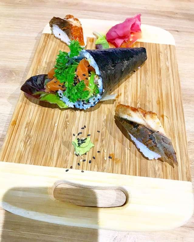 y'a pas de sushi à se faire au leu comptoir sushi 974
