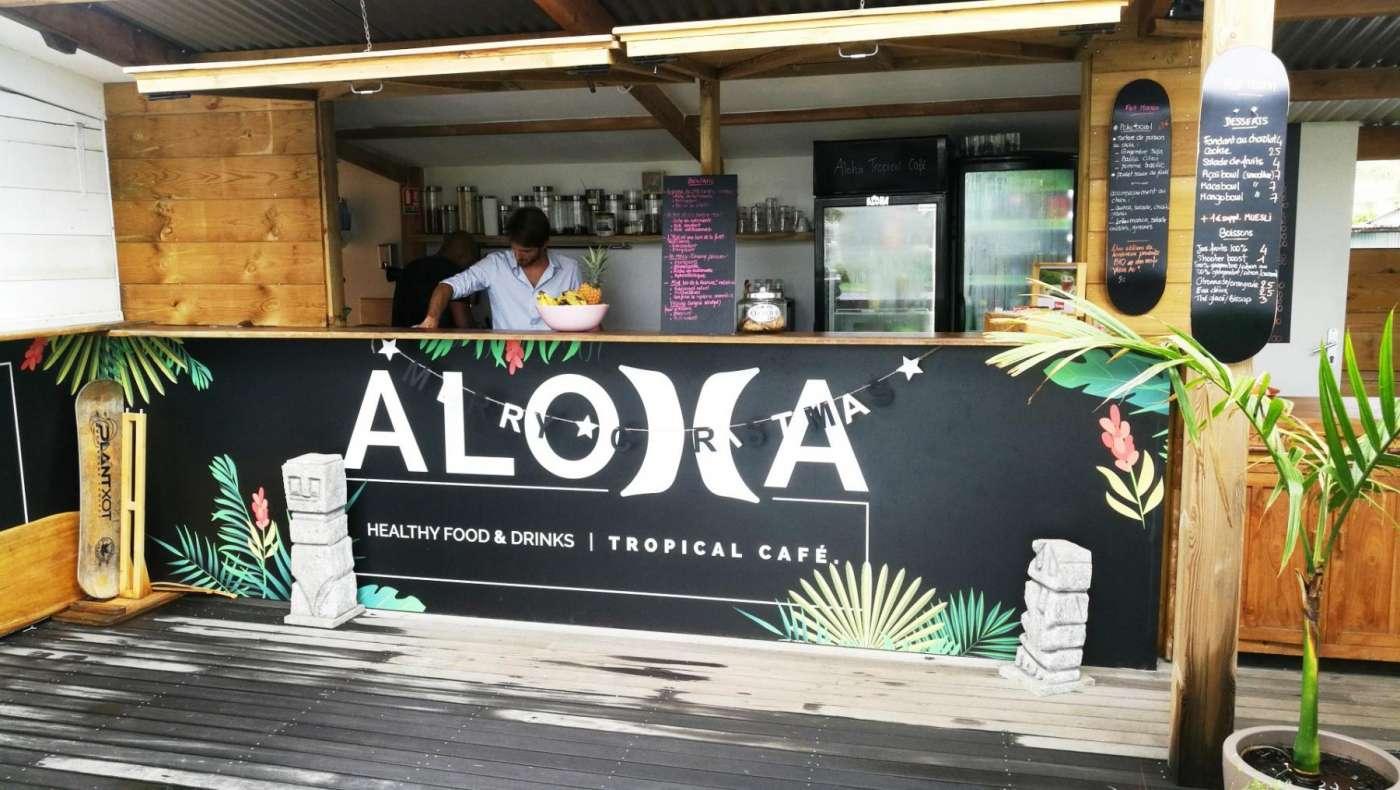 Aloha tropical café : un bout d?hawaï à la réunion 974