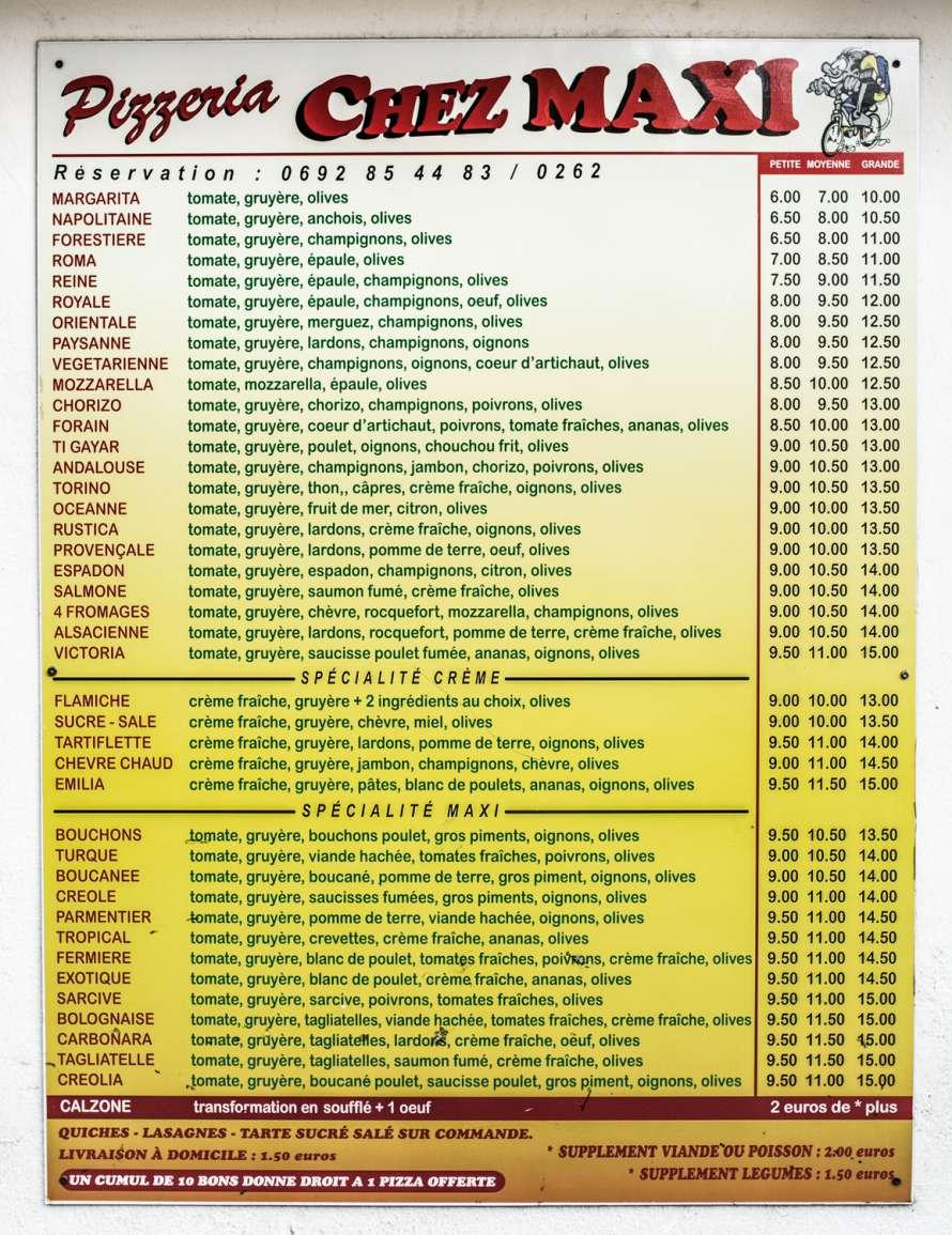 menu maxi 974