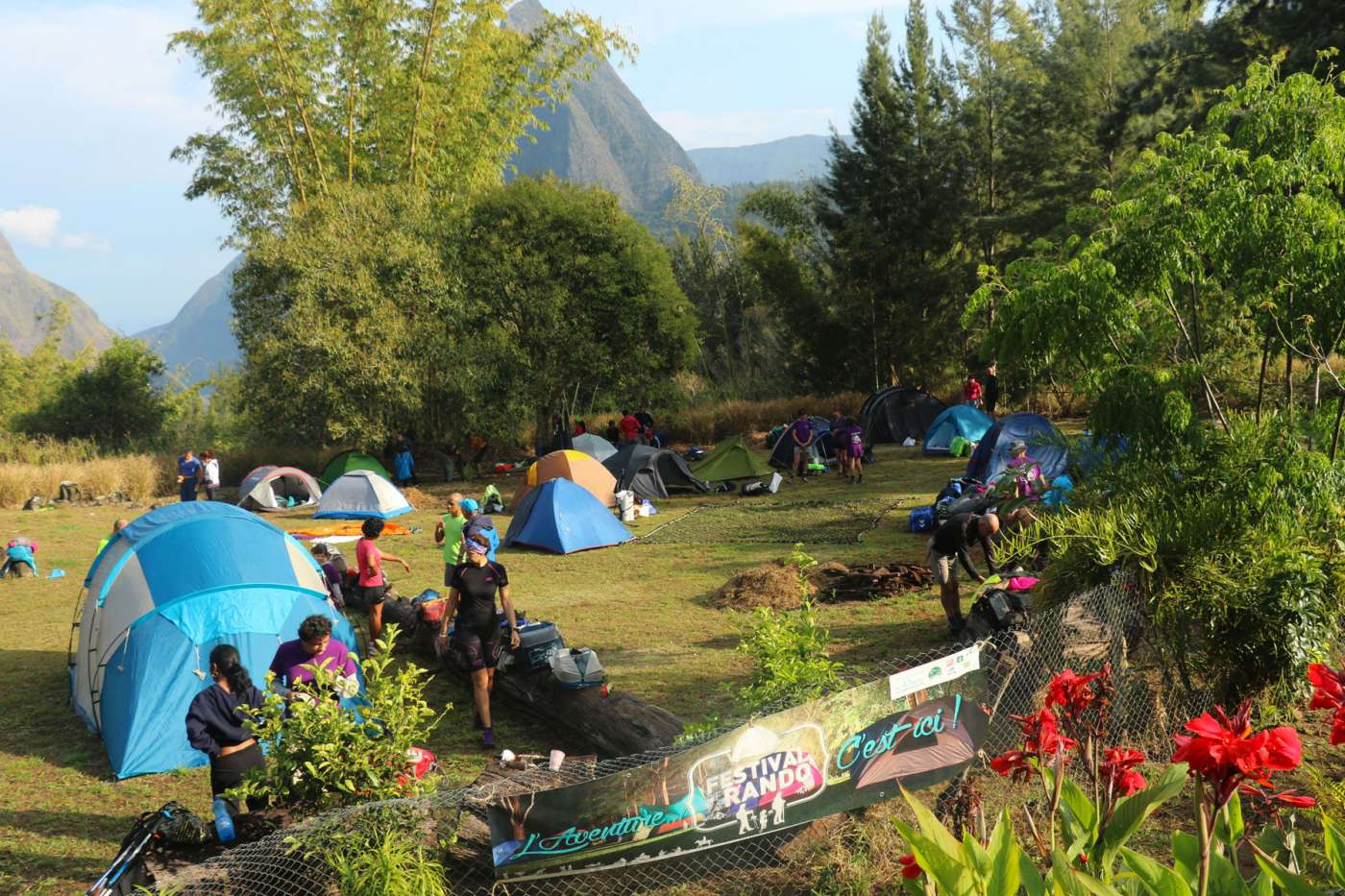 Le festival de la rando : la grande vadrouille 974