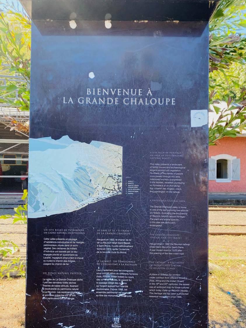 LE TI TRAIN LONTAN DE LA GRANDE CHALOUPE : UN PATRIMOINE EN SOMMEIL 974