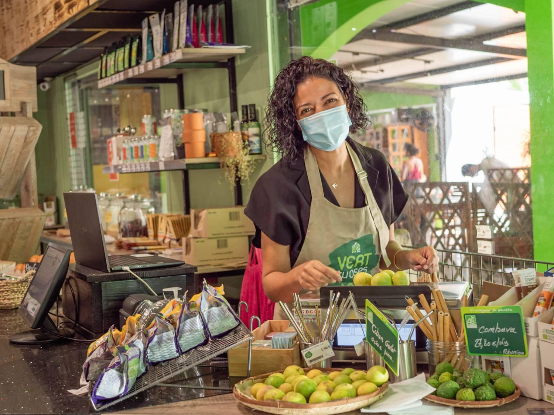 Vert tu oses : épicerie et restaurant écoresponsables à La Saline les Bains