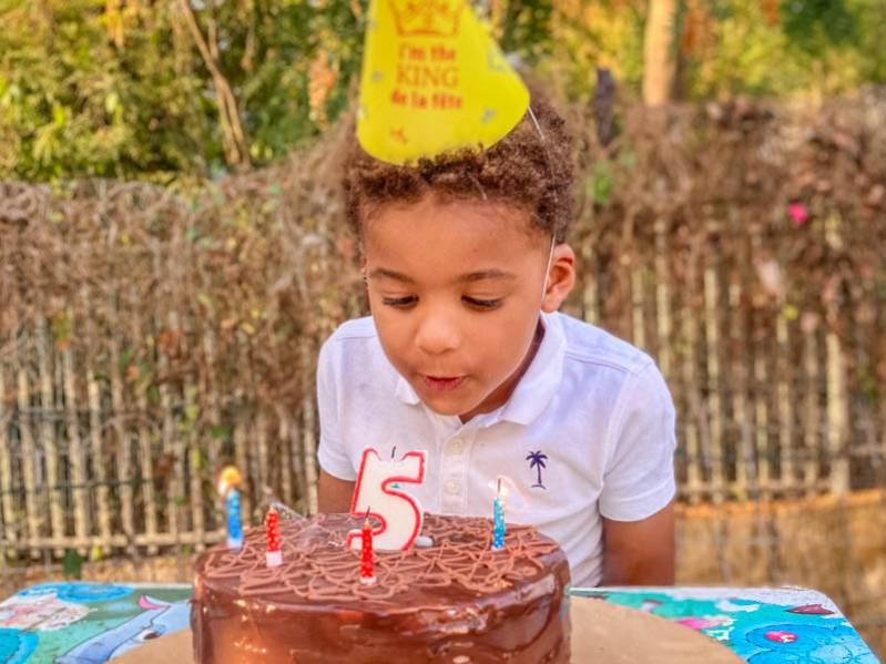 anniversaire enfant 5 ans à l'ile de La Réunion