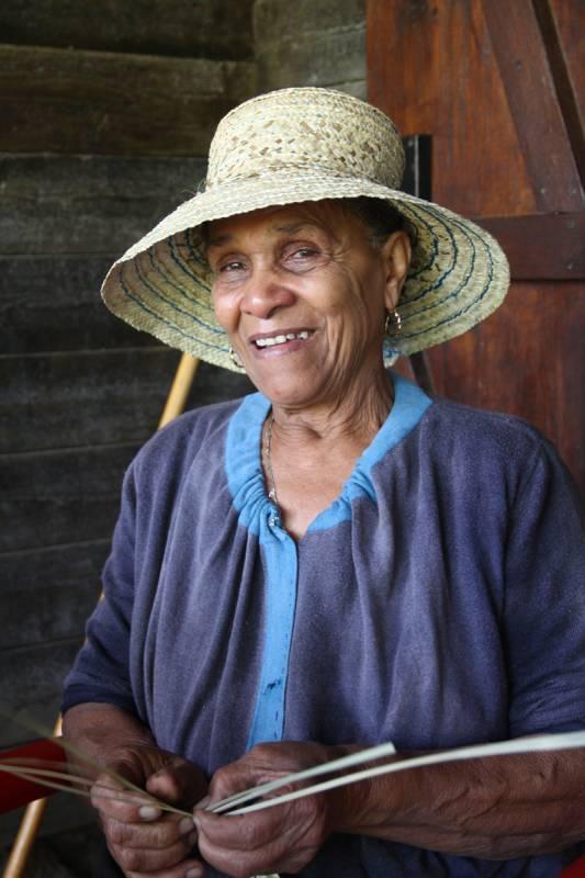Portraits d'habitants d'Ilet à Bourse dans le cirque de Mafate ile de La Réunion 974