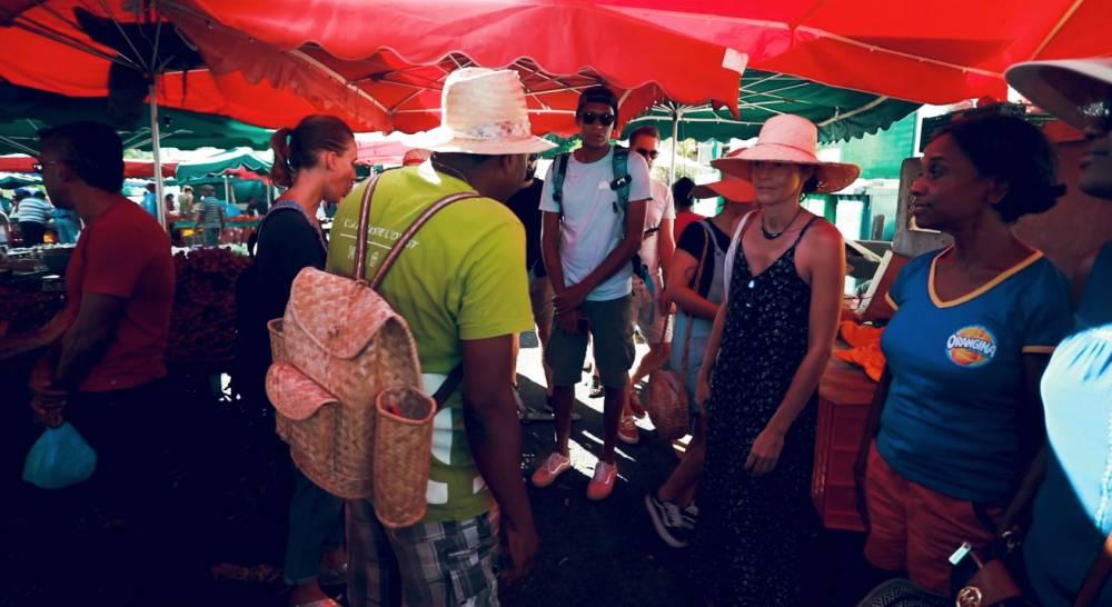 Visite guidée du marché de Saint-Paul