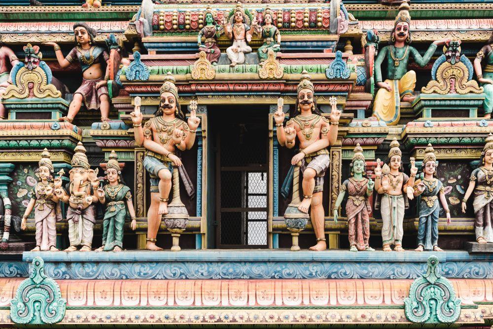 temple tamoul ile de La Réunion 974