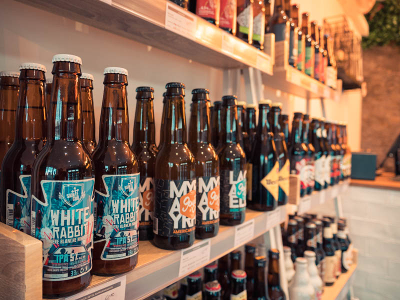 très grand choix de bière chez biere au logis à Saint-gilles 974