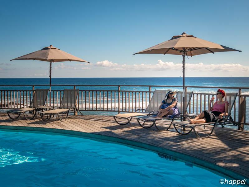 journée détente piscine à l'hôtel boucan canot ile de la réunion 974