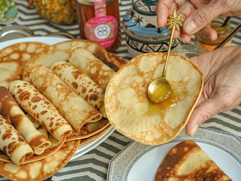 pancakes à la confiture de chez coco passion