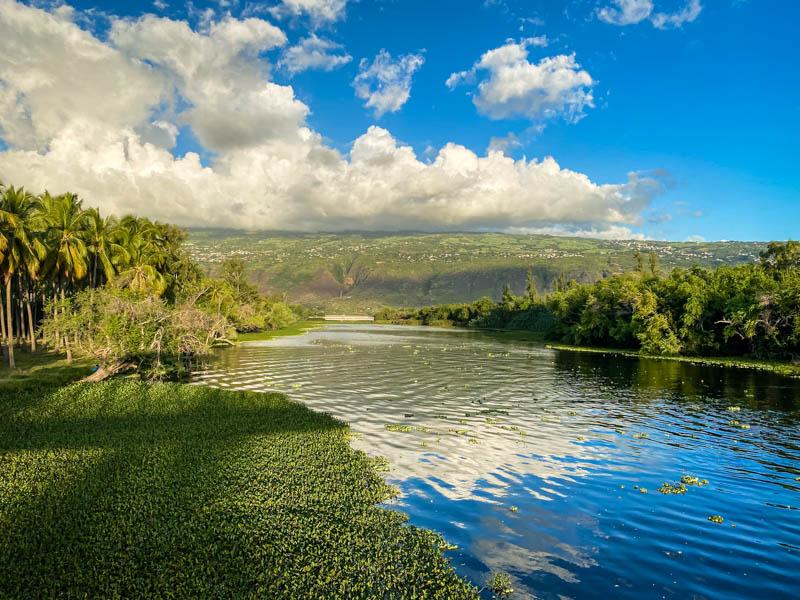 l'étang saint-paul à l'ile de La Réunion
