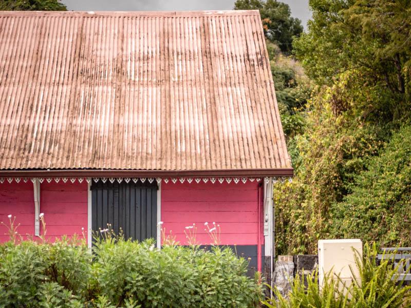 case créole dans le village de Trois-Bassins à l'Ile de La Réunion