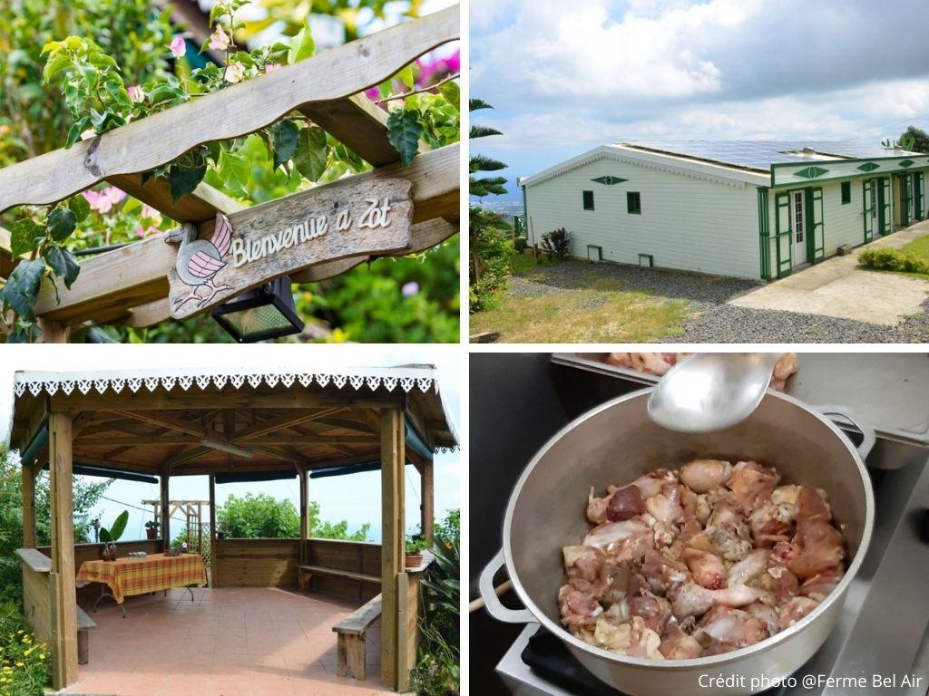 la ferme du Bel air table et chambre d'hôtes ile de La Réunion