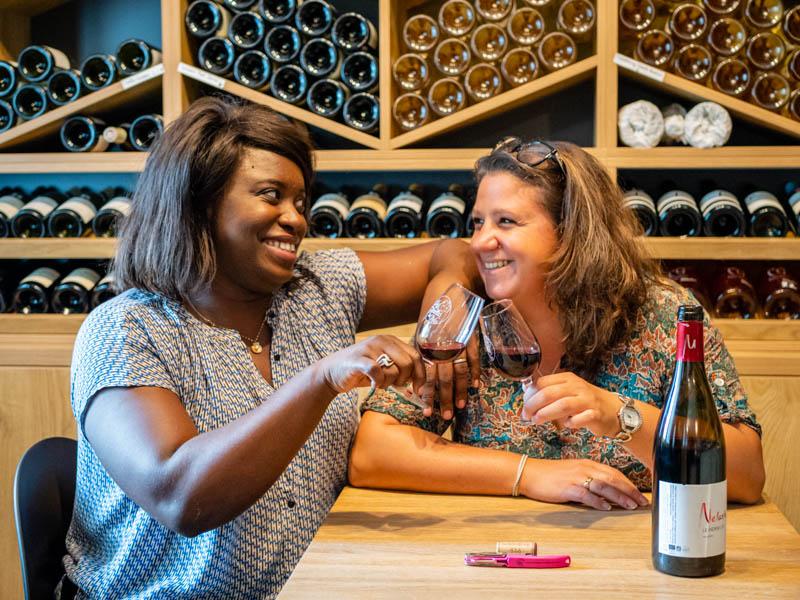 dégustations de vins nature avec les nenettes du vin saint-paul ile de la réunion