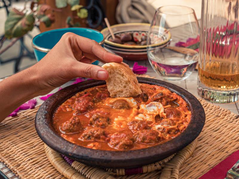 plat servi au restaurant Little Marrackech à La Possession ile de la Réunion 974