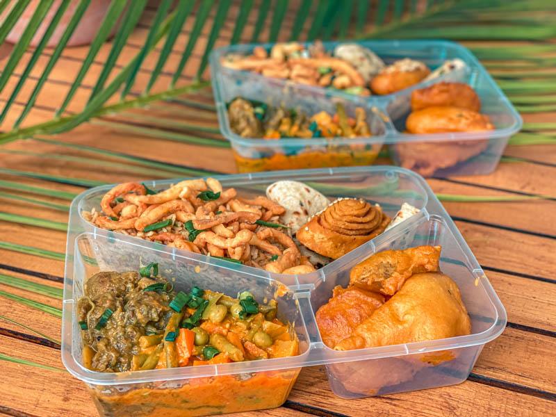 livraison de plats indien à L'ile de La Réunion 974
