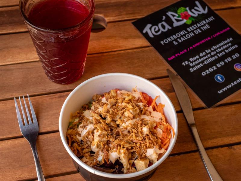 tea bowl restaurant à saint-gilles ile de la Réunion