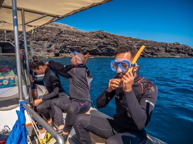 test du sous-marin à propulsion électrique ile de la réunion