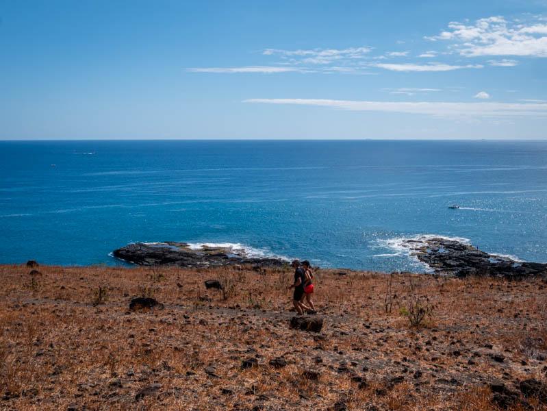 footing dans la savane du Cap Lahoussaye à l'ile de La Réunion 974
