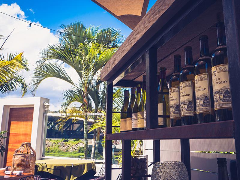 vin du restaurant la réserve à Saint-Gilles-les-Bains