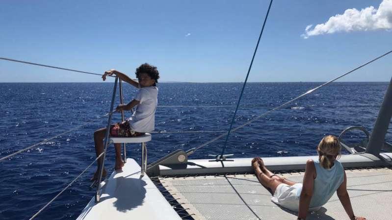Balade en bateau à L'ile de La Réunion 974