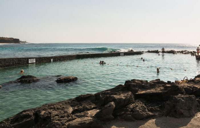 la piscine naturelle de Boucan Canot ile de la Réunion 974