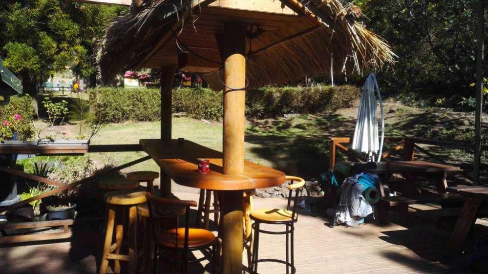 le bar de Marla tenu par Jimmy, dans mafate à l'ile de La Réunion 974