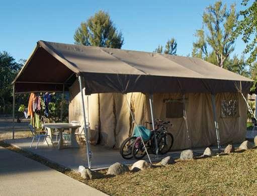 le camping à saint-gilles à l'ile de La Réunion 974