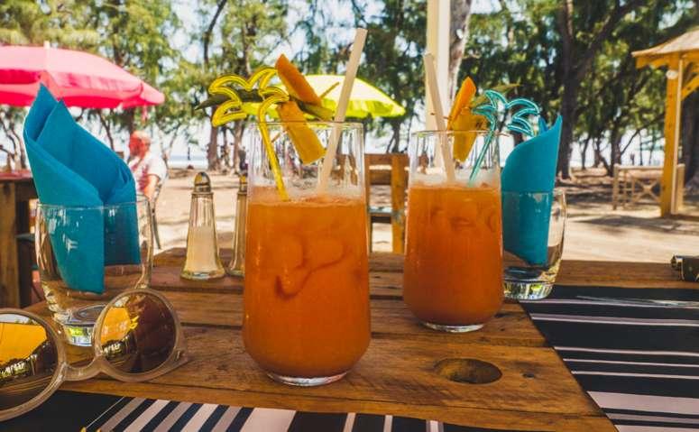 les bars de plage à l'Ile de La Réunion 974