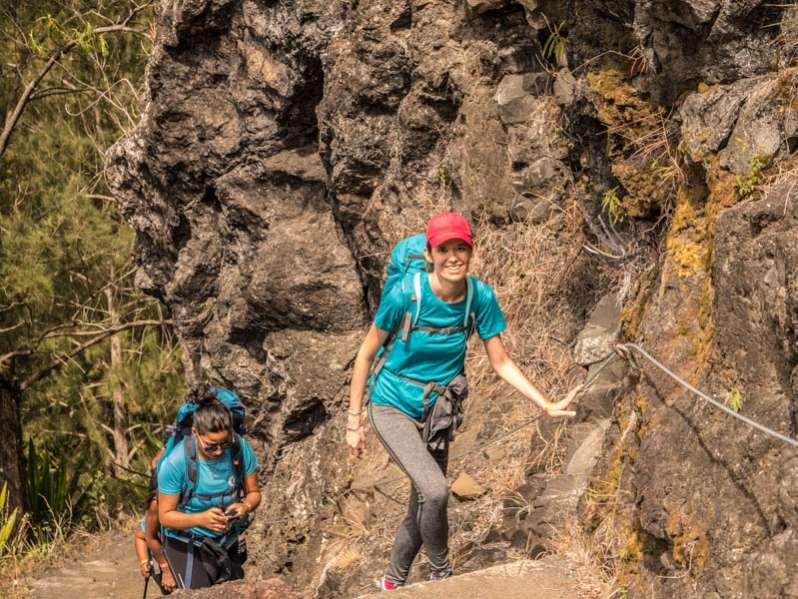 Les circuits de randonnées à La Réunion 974