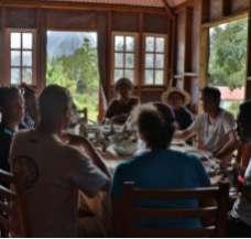 Les tables d'hôtes dans le cirque de Mafate ile de La Réunion 974