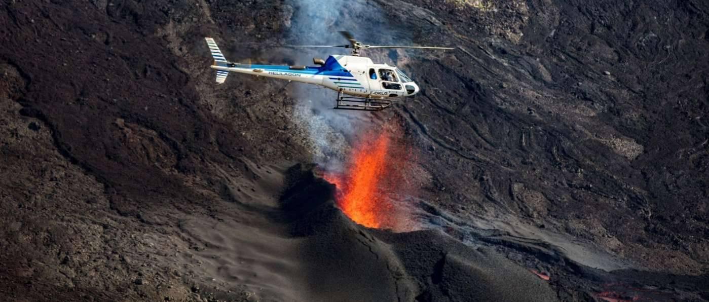 Réservez votre survol de l'Ile de La Réunion 974 avec Hélilagon