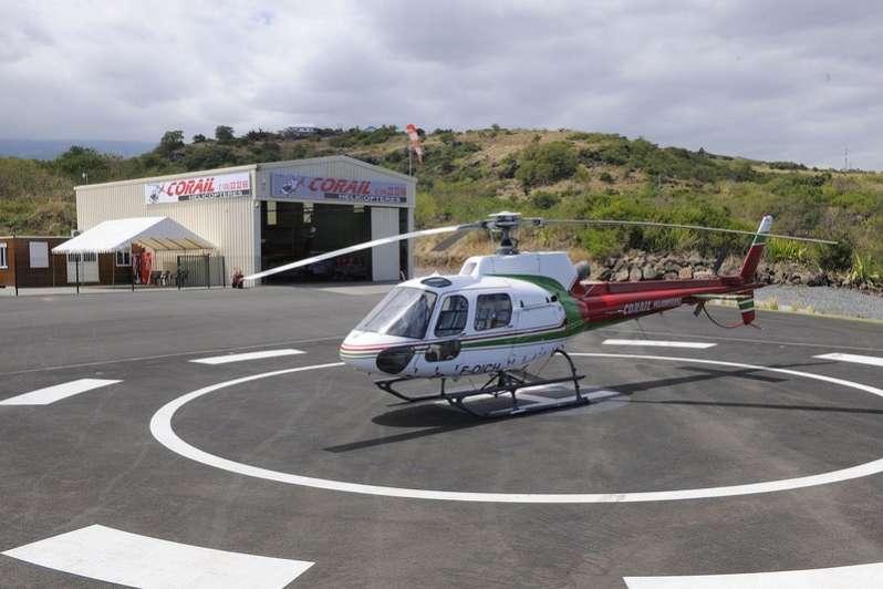 Réservez votre survol de l'ile de La Réunion avec Corail Hélicoptère