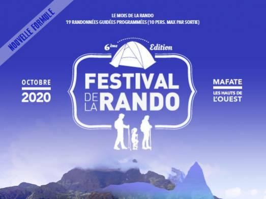 VISUEL DU FESTIVAL DE LA RANDO 2020