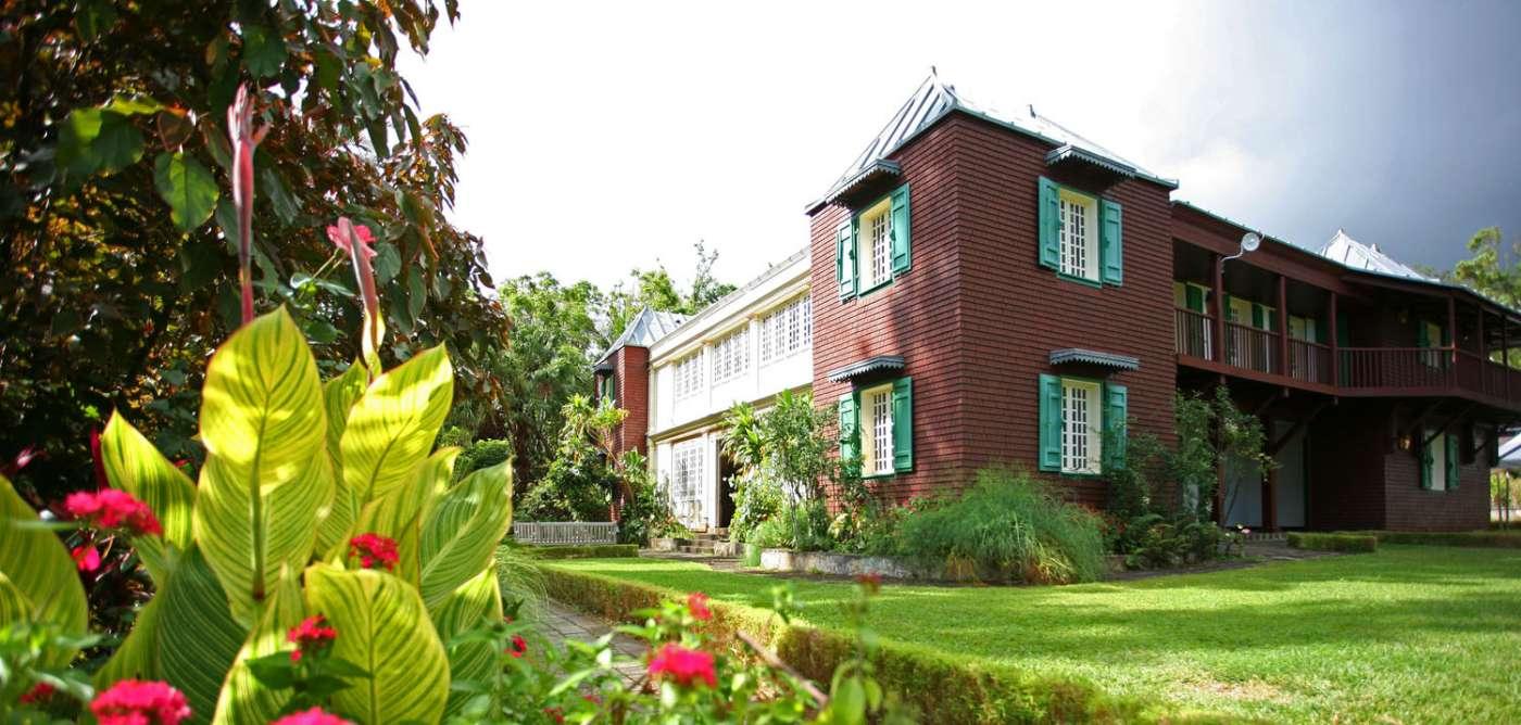 Mascarin Jardin Botanique de La Réunion Saint-Leu Centre-ville 974