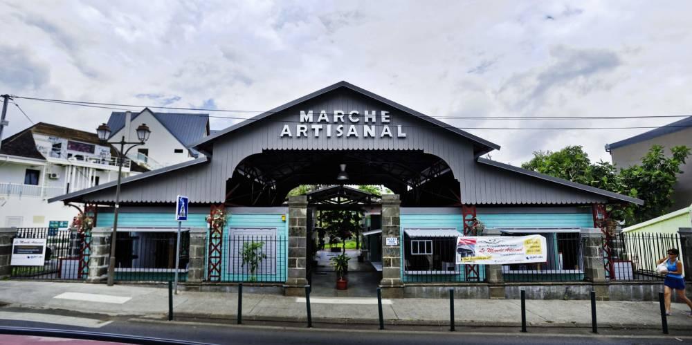 Le marché artisanal de Saint-Leu Saint-Leu Centre-ville 974