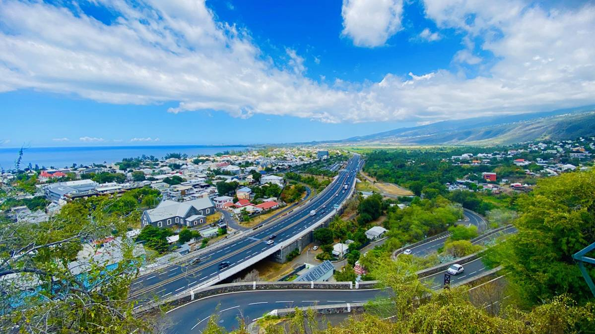 Les villes de l'Ouest de La Réunion