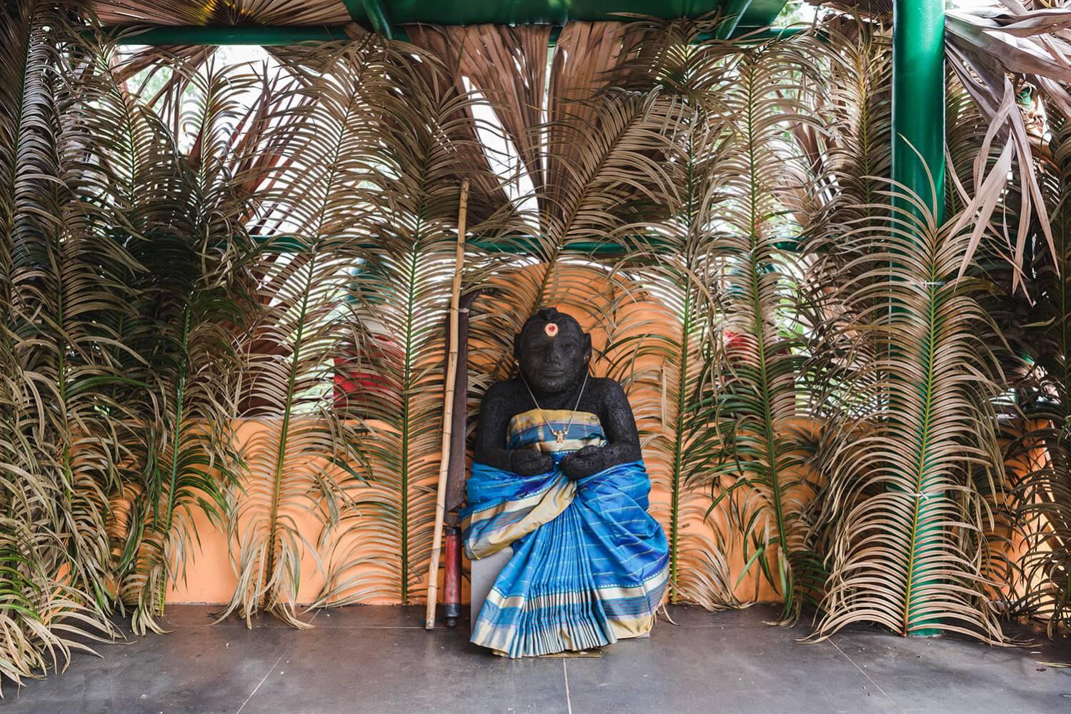 Divinité tamoule à ile de La Réunion 974