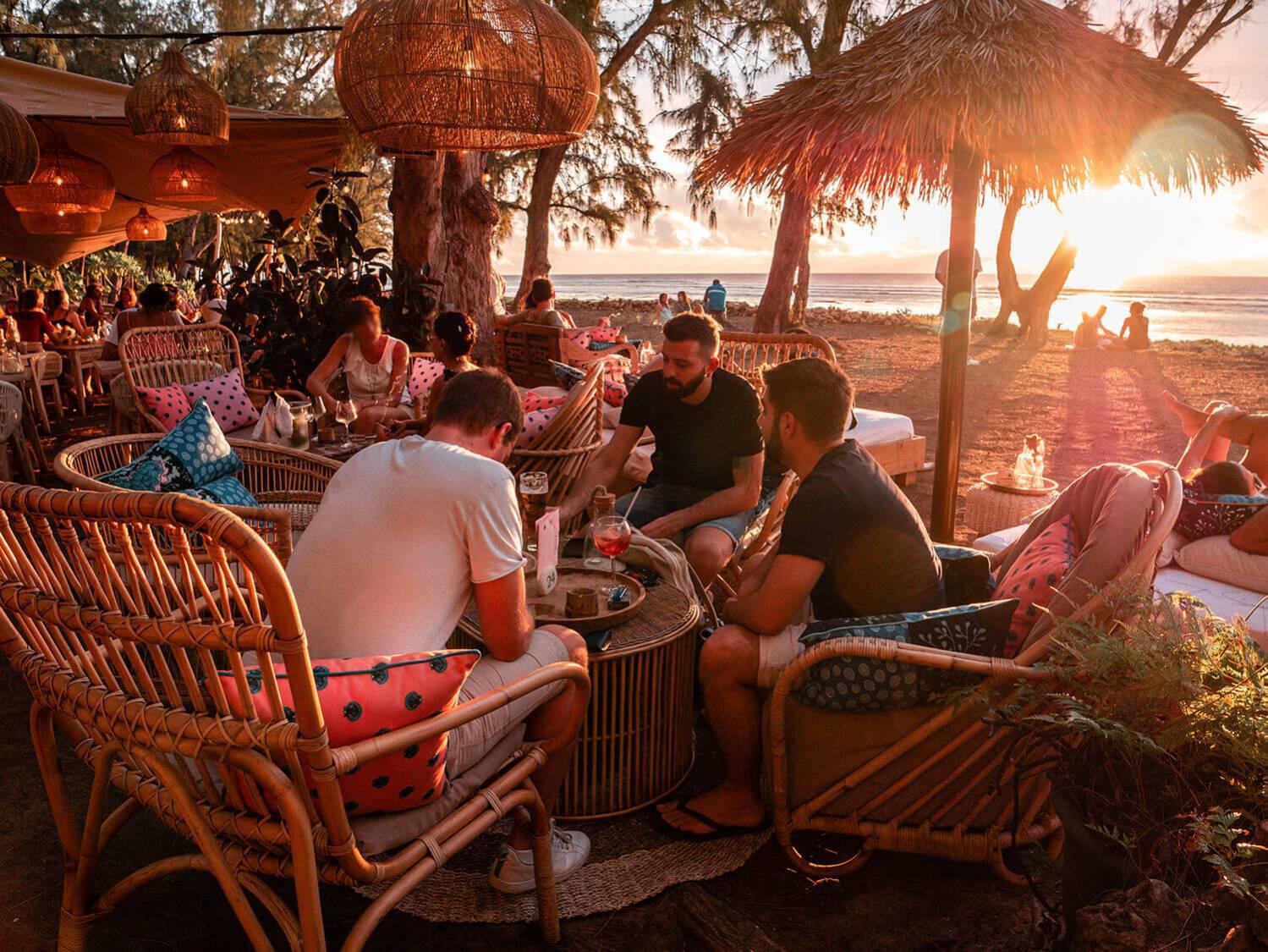 Les bars de plage 974