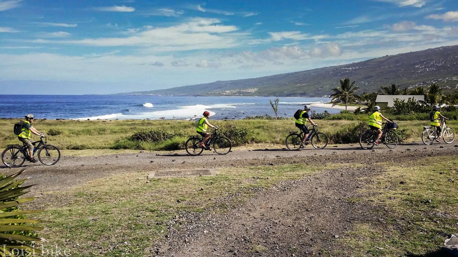 Faire du vélo électrique à Saint-Leu Ile de La Réunion 974