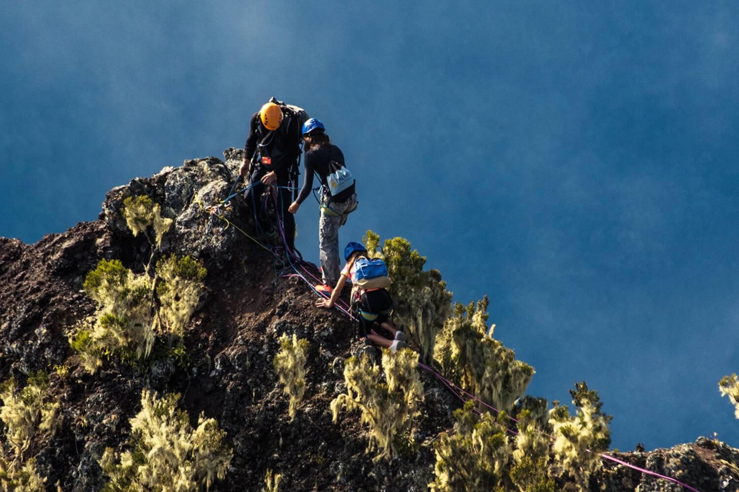 Faire de l'Escalade à l'Ile de La Réunion 974