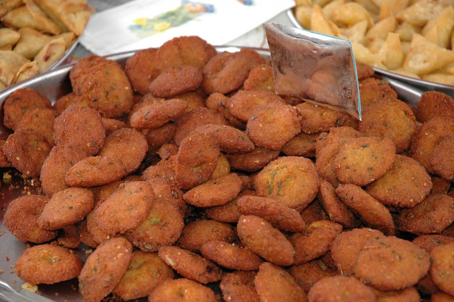 Bonbons piments sur le marché de la Possession à l'Ile de La Réunion 974