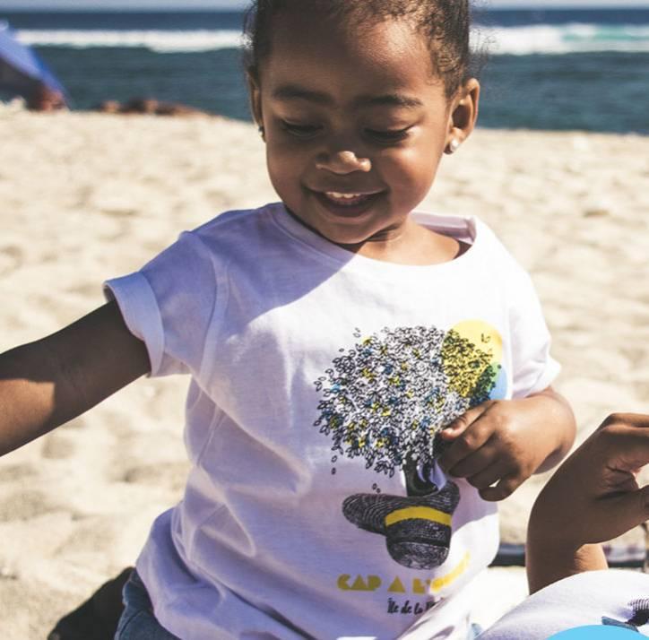 Boutique Ouest La Réunion Cap à l'Ouest T-Shirt Enfant