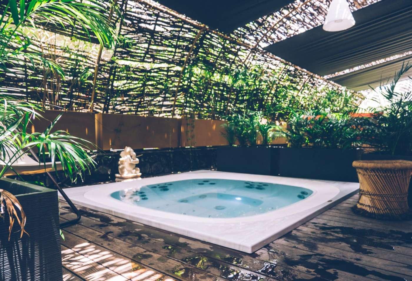 Les spas dans les hôtels 974