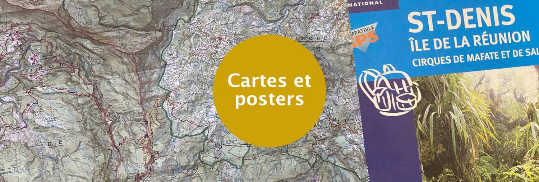 Carte IGN Saint-Denis mafate et Salazie
