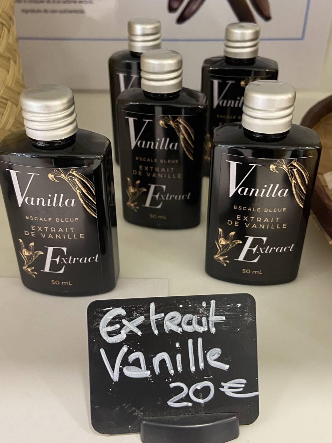 extrait de vanille bleue