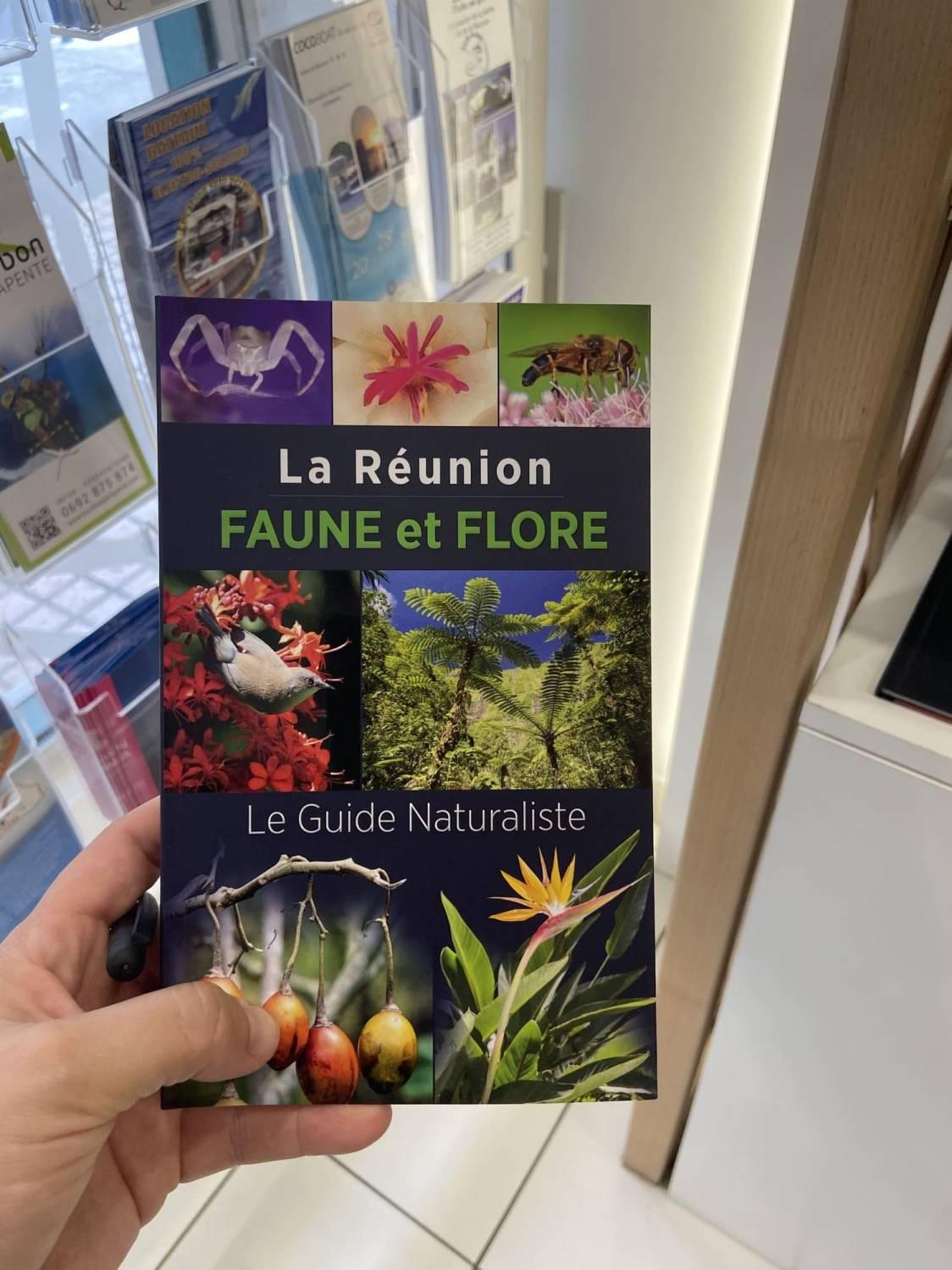 Page de couverture du guide La Réunion faune et flore