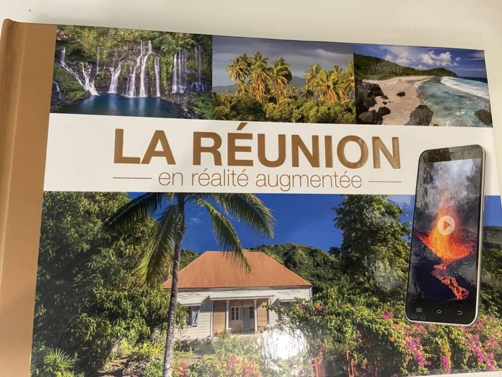 Page de couverture du livre La Réunion en réalité augmentée